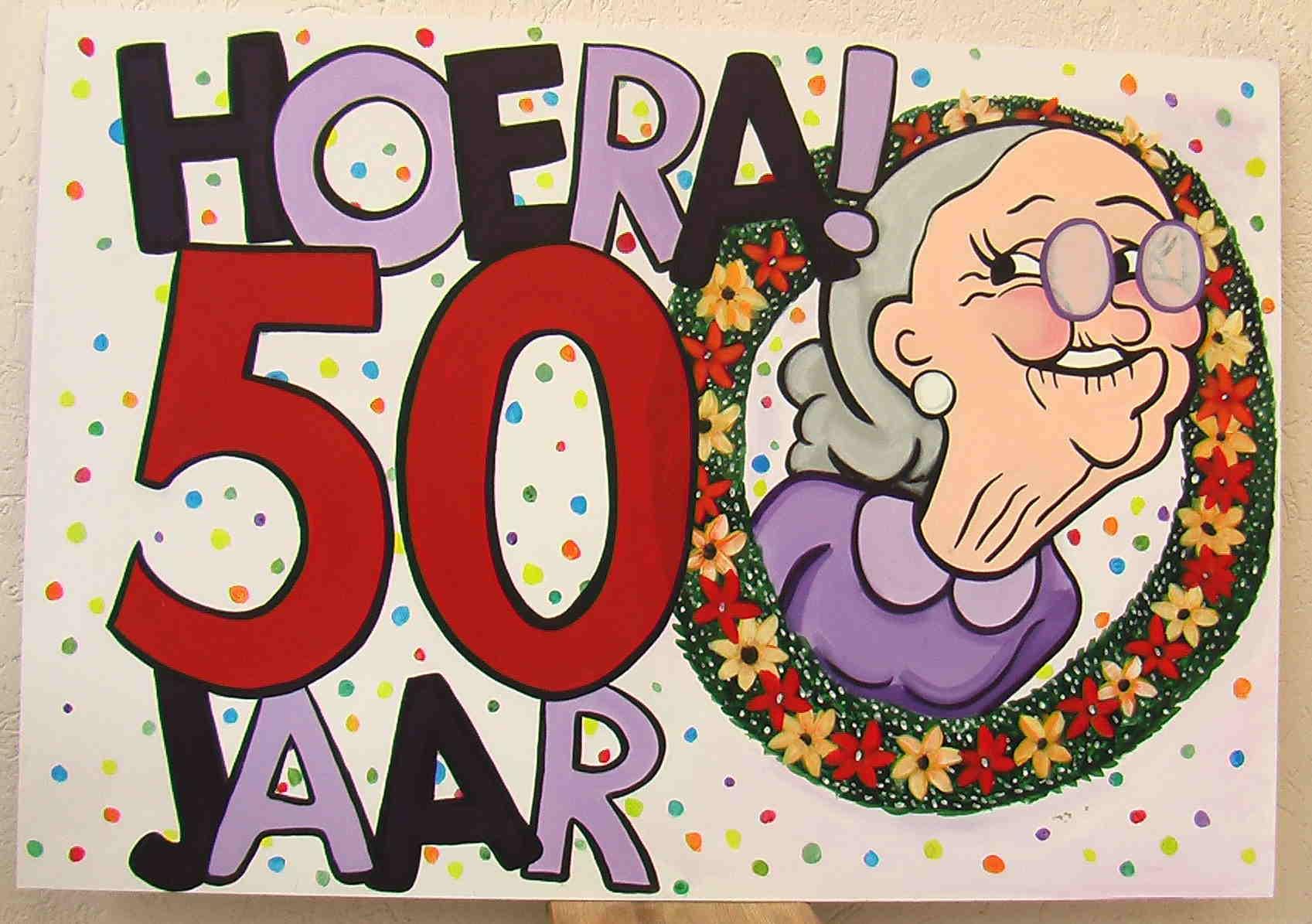 Fonkelnieuw 50 jaar verjaardag Sarah en Abraham - Bruiloft DJ Wicky FB-68