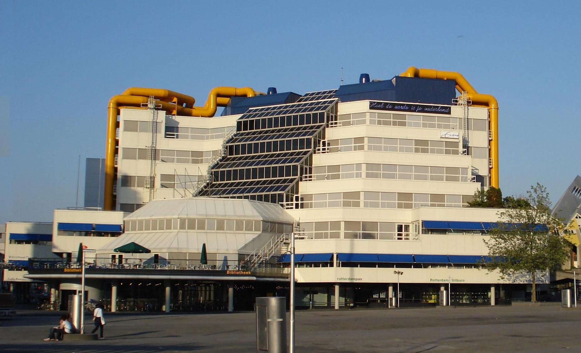 Bibliotheek Rotterdam Kinderdisco