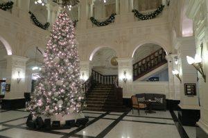 Amstel hotel kerst