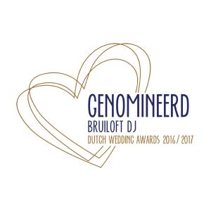 Nominatie Bruiloft DJ 2016 2017 DWA